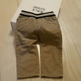 ジョルジオアルマーニ(Giorgio Armani)の値下げ💴✨👛新品アルマーニベビー コーデュロイパンツ(パンツ)