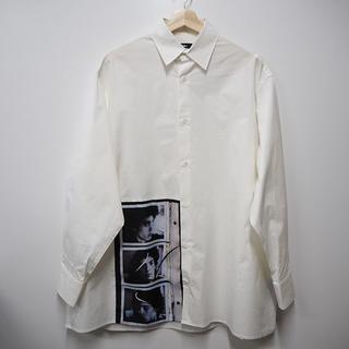 ラフシモンズ(RAF SIMONS)のRAF SIMONS  17SS メープルソープ オーバーサイズシャツ(シャツ)