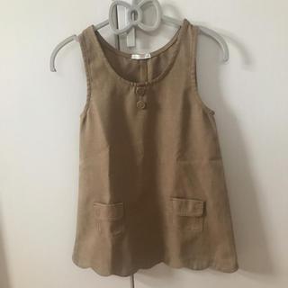 ジーユー(GU)のGUジャンパースカートサイズ120(スカート)