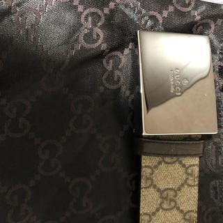 グッチ(Gucci)のGUCCI GG柄 ベルト 正規品 付属品あり。(その他)