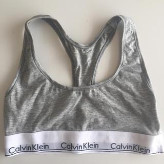 カルバンクライン(Calvin Klein)のCalvin Klein グレー アンダーウェア(ブラ)
