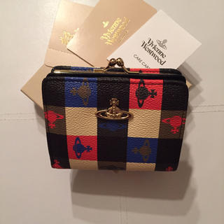 ヴィヴィアンウエストウッド(Vivienne Westwood)の新品未使用 正規品 ヴィヴィアン  がま口 財布 ロゴマニア(財布)