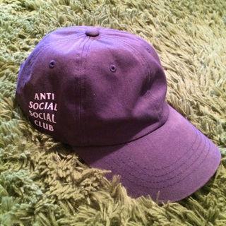ステューシー(STUSSY)のanti social social club cap(その他)