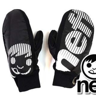 ネフ(Neff)の新品 ミトングローブ スノーボード スキー neff セール 割引 ブラック 黒(アクセサリー)