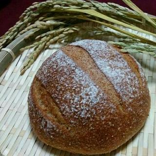 春が来た❤米糠カンパーニュ4個セット(パン)