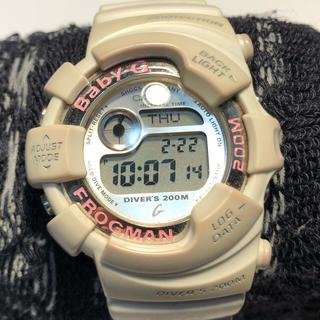 ベビージー(Baby-G)のbaby-G FROGMAN ホワイト(腕時計(デジタル))