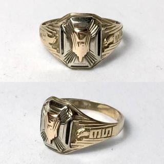 1935年 ビンテージ カレッジリング(リング(指輪))