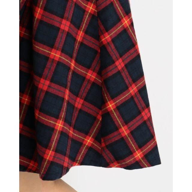 LIZ LISA(リズリサ)のLIZ LISA☆新品♪Tralala*クラシカルチェック柄フレアスカート レディースのスカート(ひざ丈スカート)の商品写真