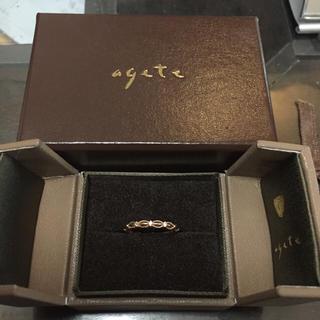 アガット(agete)のアガット ドレスリング(リング(指輪))