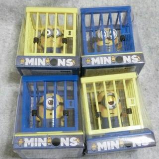 セール中♪ 即購入OK ミニオンズ 檻 ゆらゆら ソーラー スイング 青 黄色