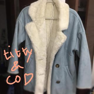 ティティアンドコー(titty&co)のtitty&Co. 裏地モコモココート(毛皮/ファーコート)