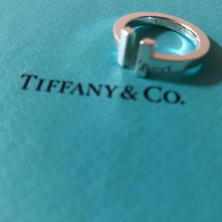 ティファニー(Tiffany & Co.)の【値下げ】3/11 ティファニー T スクエアリング(リング(指輪))