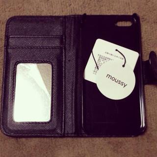 マウジー(moussy)のmoussy iPhone5.5Sカバー(モバイルケース/カバー)