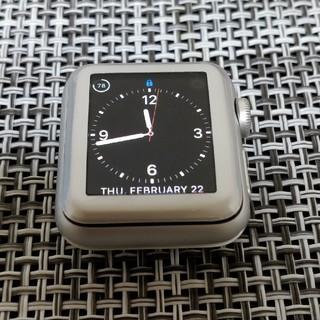 アップル(Apple)の3% off - apple watch series 3 38mm GPS(腕時計(デジタル))