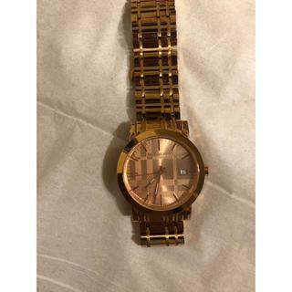 834b52a0f0 バーバリー(BURBERRY)のBurberry 腕時計 ピンクゴールド クオーツ(腕時計)