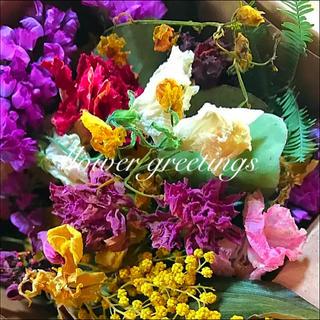 ドライフラワー 花材 枝付き・花片MIX #A フラワリウム レジンに(ドライフラワー)