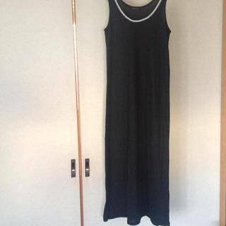 ロングワンピース黒(ロングワンピース/マキシワンピース)