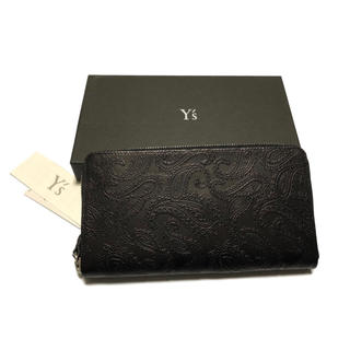 ヨウジヤマモト(Yohji Yamamoto)の新品 Y's Yohji Yamamoto ペイズリー ウォレット / 革 財布(長財布)