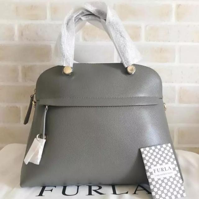 b54951d8037b Furla - 新品 フルラ パイパーMサイズ グレー ARGILLAの通販 by Mango ...