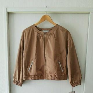 クチュールブローチ(Couture Brooch)の新品!クチュールブローチ  ポケットパールビーズ付きブルゾン(ブルゾン)