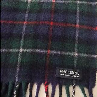 アンドリューマッケンジー(ANDREW MACKENZIE)のスコットランド製ウールマフラー Mackenzie(マフラー)