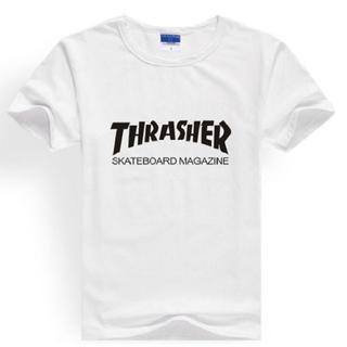 アンドバイピーアンドディー(&byP&D)のスラッシャー THRASHER ロゴ Tシャツ(Tシャツ/カットソー(半袖/袖なし))