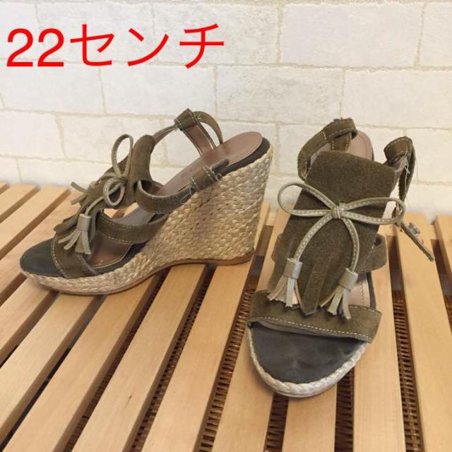BARCLAY(バークレー)のサンダル ウェッジソール レディースの靴/シューズ(サンダル)の商品写真