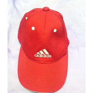 アディダス(adidas)のアディダス キャップ 赤(キャップ)