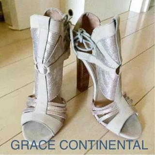 グレースコンチネンタル(GRACE CONTINENTAL)のグレースコンチネンタル ♡サンダル(サンダル)