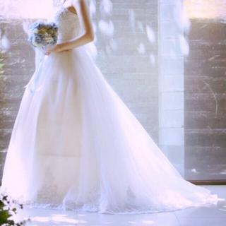 お値下げしました♡ウェディングドレス♡ソフトチュール/パニエ💍セット(ウェディングドレス)
