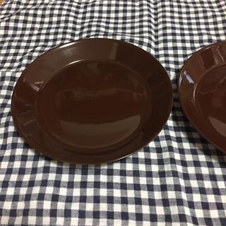 イッタラ(iittala)のイッタラ ティーマ  ブラウン 21cm 2枚(食器)