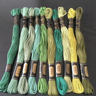 オリンパス(OLYMPUS)のオリムパス刺繍糸 10本(生地/糸)