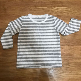 ムジルシリョウヒン(MUJI (無印良品))の無印良品 ロンT 100(Tシャツ/カットソー)