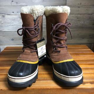 ソレル(SOREL)の新品 タグ付き レディース ブラウン ソレル カリブー 23cm 37(ブーツ)