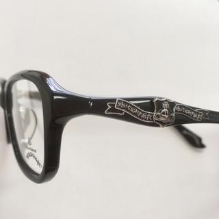 ヴィヴィアンウエストウッド(Vivienne Westwood)の【新品・未使用】ヴィヴィアン ウエストウッド メガネフレーム 黒 スクエア調(サングラス/メガネ)