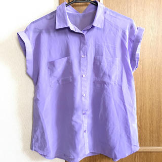ジーユー(GU)のシフォン シャツ 【GU】(シャツ/ブラウス(半袖/袖なし))