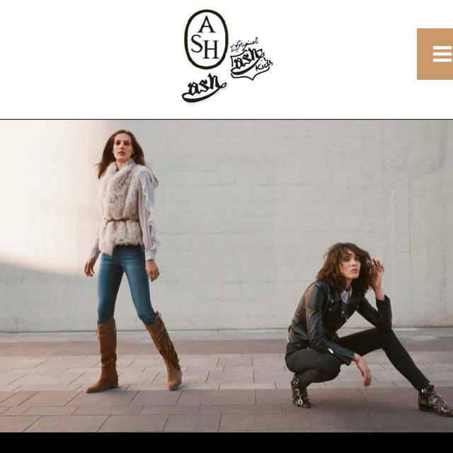 edba0d5ea97e ASH - ASH バック 黒 革 イタリアブランドの通販 by LILY|アッシュなら ...