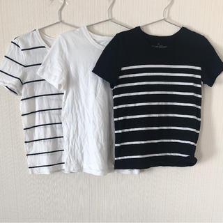 ムジルシリョウヒン(MUJI (無印良品))の無印☆半袖Tシャツセット(Tシャツ(半袖/袖なし))