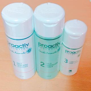 プロアクティブ(proactiv)のプロアクティブ 3ステップ (洗顔・化粧水 敏感肌用)(その他)