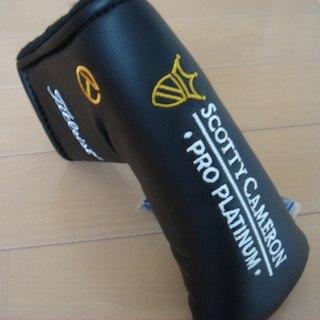 スコッティキャメロン(Scotty Cameron)の☆ サークルT  ヘッドカバー BLACK スコッティキャメロン ☆(その他)