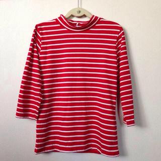 ジーユー(GU)の激安☆G.U.☆ハイネックTシャツ5分袖(Tシャツ(長袖/七分))