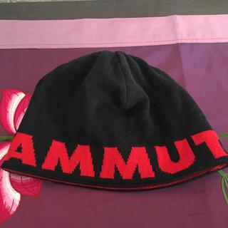 マムート(Mammut)のマムート  ニット帽 リバーシブル(登山用品)