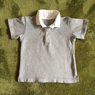 ムジルシリョウヒン(MUJI (無印良品))の無印良品 半袖ポロシャツ 100サイズ 綿100%(その他)
