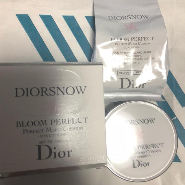 buy online 1929f a0fb4 Dior スノー ブルーム パーフェクト サン クッション   フリマアプリ ラクマ