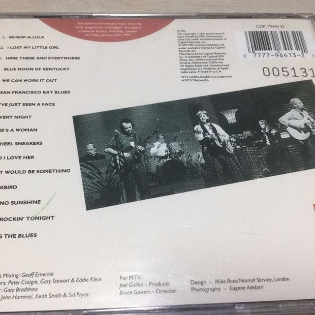 ポールマッカートニー  Paul McCartney「アンプラグド」 エンタメ/ホビーのCD(ポップス/ロック(洋楽))の商品写真