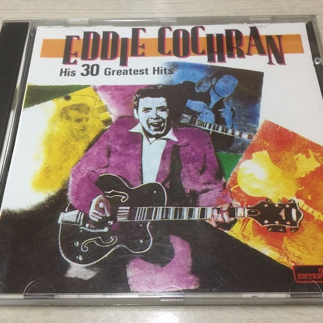 エディ・コクラン 「His 30 Greatest Hits」 エンタメ/ホビーのCD(ポップス/ロック(洋楽))の商品写真