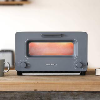 バルミューダ(BALMUDA)のバルミューダ トースター 限定チャコールグレー 新品(調理機器)