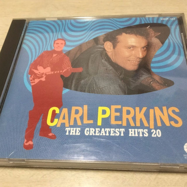 カール パーキンス Carl Perkins Greatest Hits 20 エンタメ/ホビーのCD(ポップス/ロック(洋楽))の商品写真