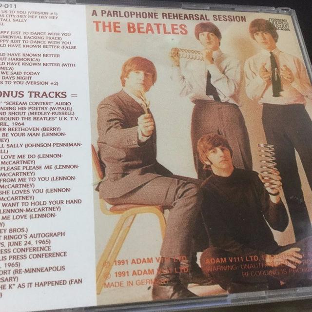 ビートルズ The Beatles Parlophone Rehearsal  エンタメ/ホビーのCD(ポップス/ロック(洋楽))の商品写真