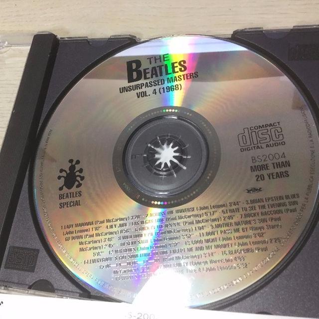 ビートルズ BEATLES Unsurpassed Masters Vol.4  エンタメ/ホビーのCD(ポップス/ロック(洋楽))の商品写真